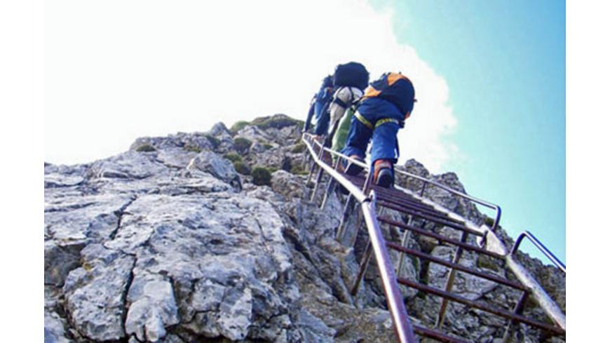 Klettersteig Alpspitze : Alpspitze klettersteig altmarkt galerie dresden