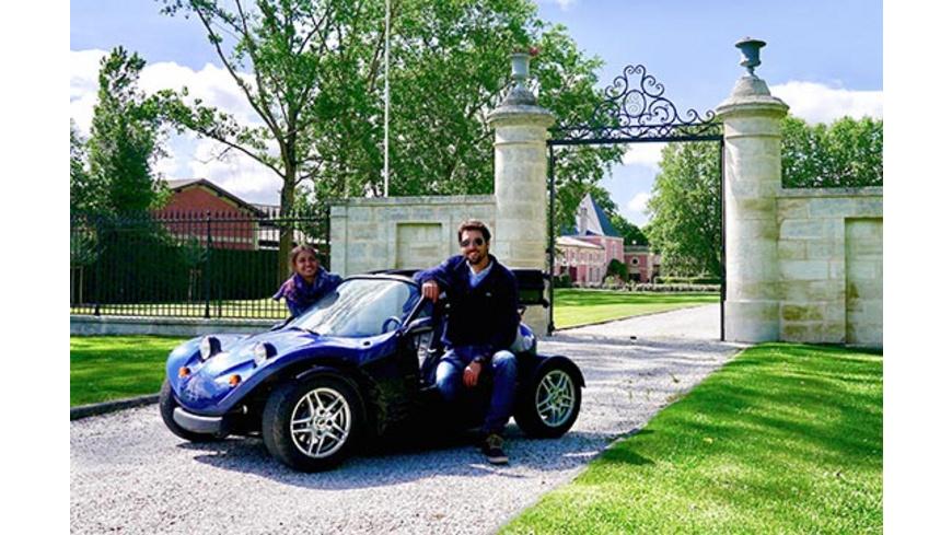GPS-Rundfahrt im Buggy im Médoc für 2