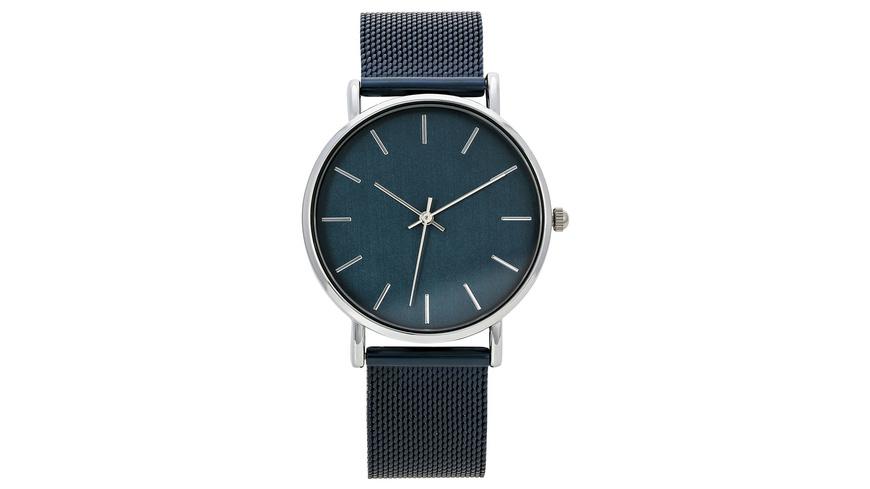 Uhr - Blue Mesh