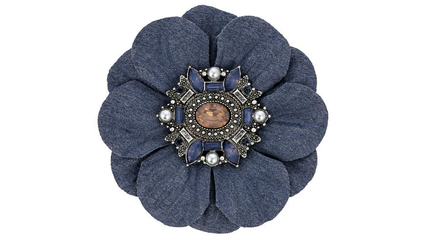 Brosche - Blue Passion