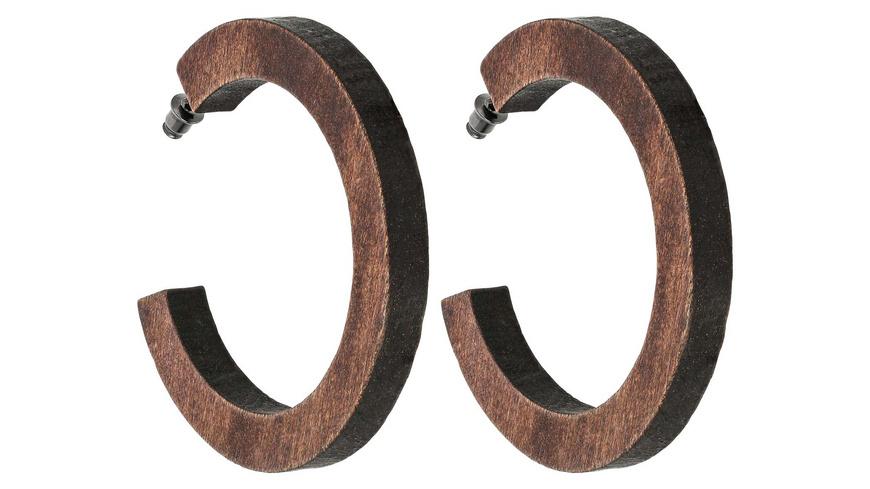 Creolen - Wooden Hoop