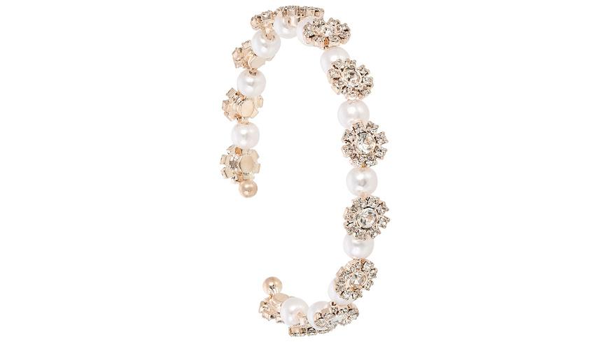Armreif - Pearly Flowers