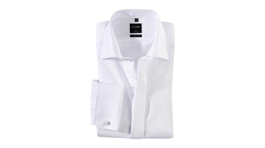 OLYMP Luxor Smokinghemd, modern fit, Extra langer Arm