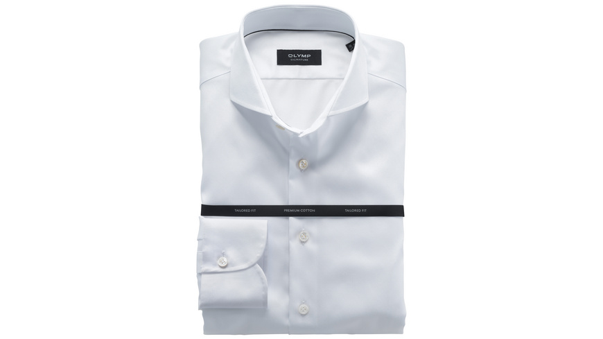 OLYMP SIGNATURE Hemd, tailored fit, SIGNATURE Haifisch