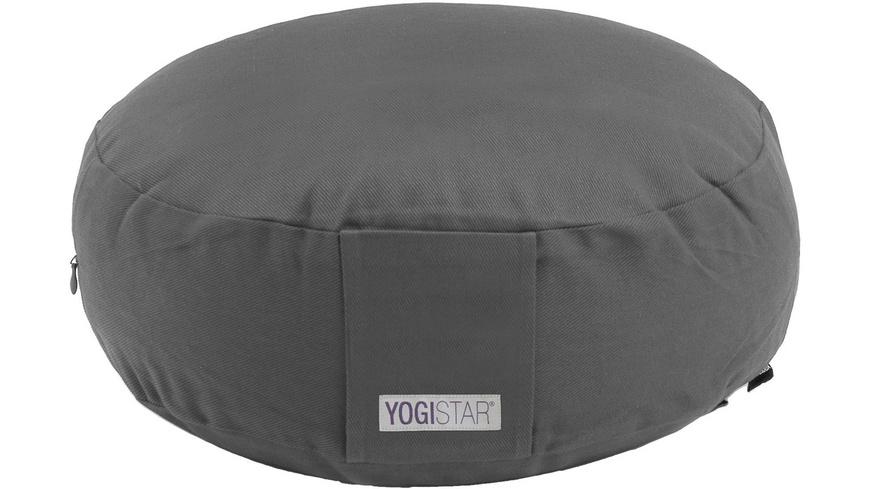 YOGISTAR.COM Rund Yogakissen