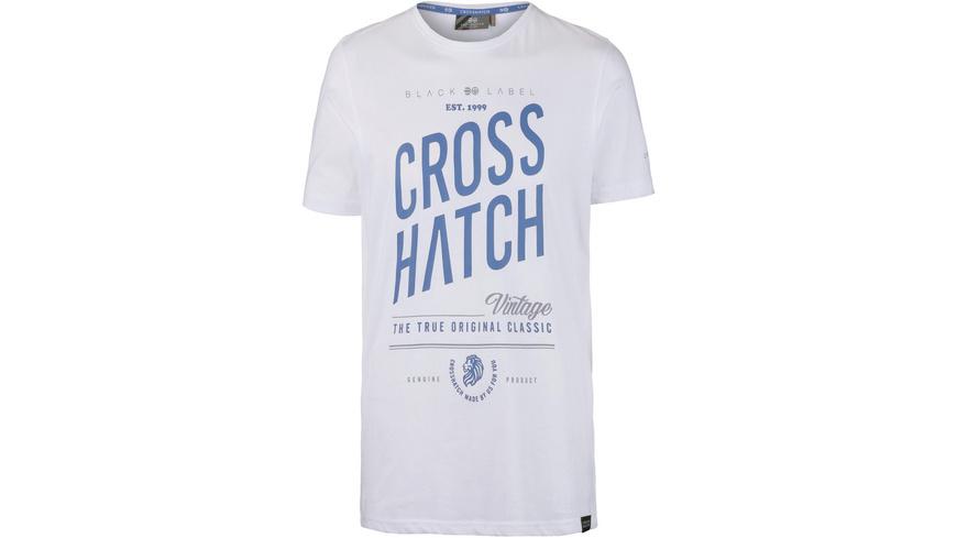 Crosshatch Fresan T-Shirt Herren