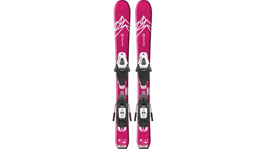 Salomon E QST LUX JR XS+ C5 GW J All-Mountain Ski Mädchen