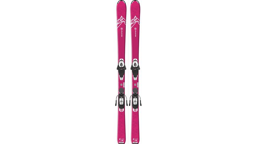 Salomon E QST LUX JR M + L6 GW All-Mountain Ski Mädchen