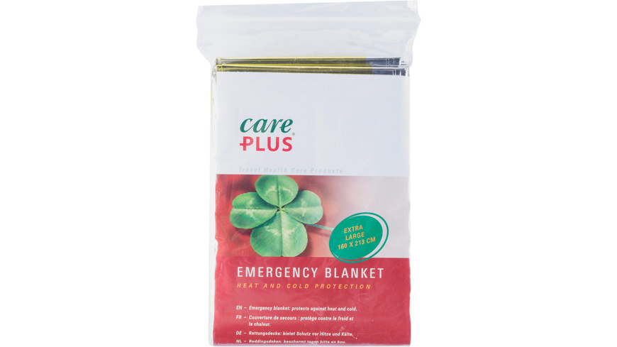 Care Plus Emergency Blanket Rettungsdecke