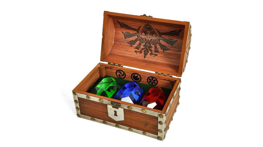 Zelda - Rubin Schatztruhe mit Game Sound