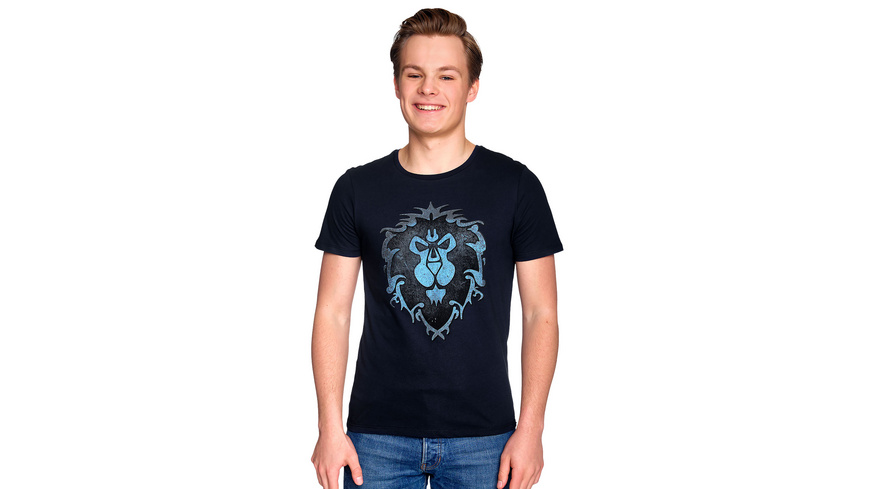 World of Warcraft - Alliance Logo T-Shirt blau