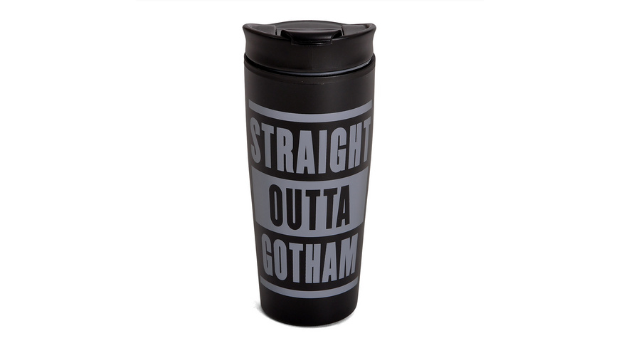 Batman - Straight Outta Gotham To Go Becher