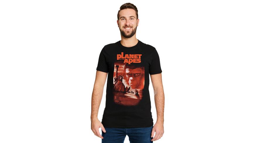 Planet der Affen - Classic Movie Poster 1968 T-Shirt schwarz