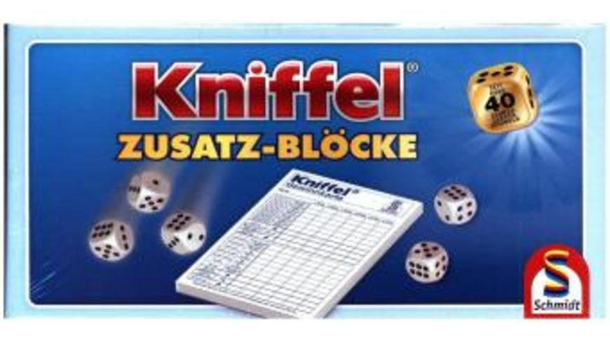 Kniffelblock im Display