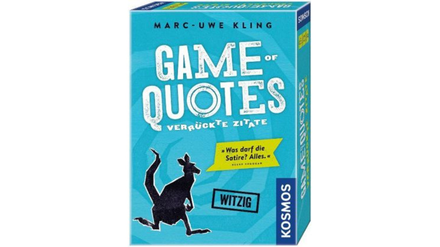 Game of Quotes - Verrückte Zitate