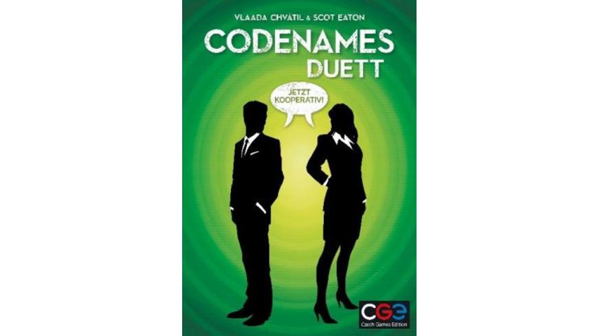 Codenames Duett  Spiel