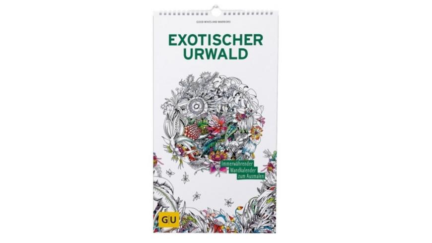 Exotischer Urwald: Immerwährender Wandkalender zum