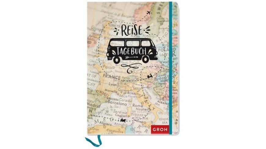 Reisetagebuch  Landkarte