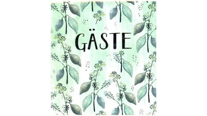 Gästebuch - Gäste  All about green