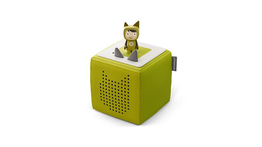 Starterset Toniebox Grün  Kreativ-Tonie