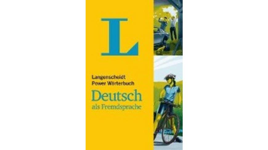 Langenscheidt Power Wörterbuch Deutsch als Fremdsp