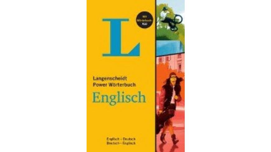 Langenscheidt Power Wörterbuch Englisch - Buch mit