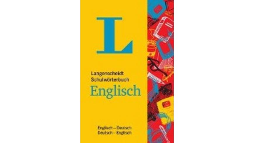 Langenscheidt Schulwörterbuch Englisch - Mit Info-