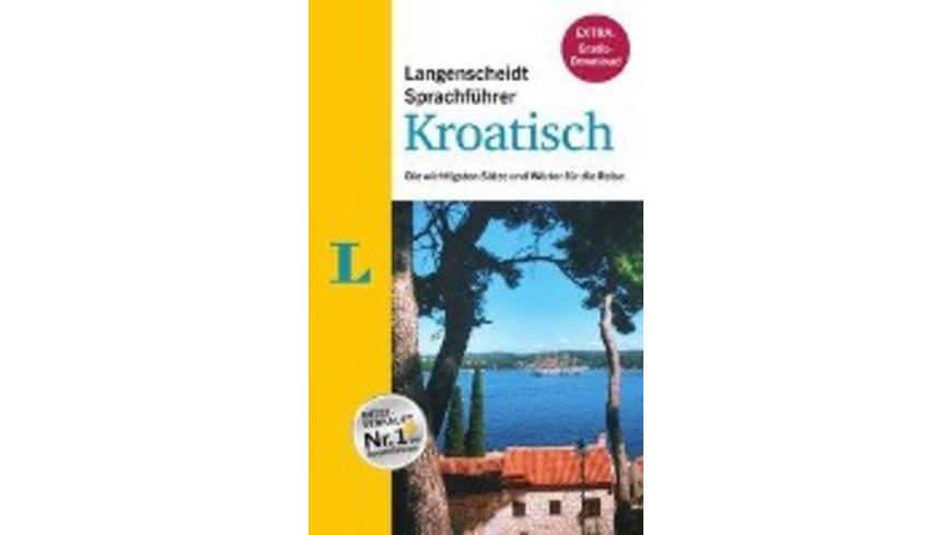 Langenscheidt Sprachführer Kroatisch - Buch inklus