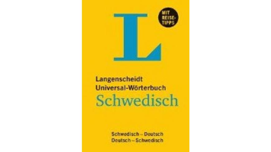 Langenscheidt Universal-Wörterbuch Schwedisch - mi
