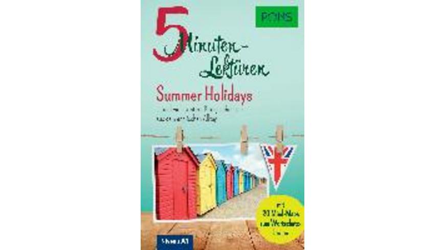 PONS 5-Minuten-Lektüren Englisch A1 - Summer Holid
