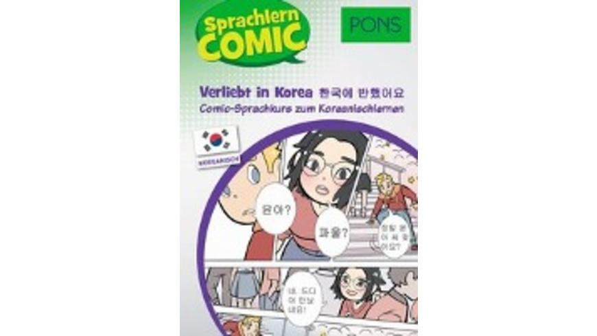 PONS Sprachlern-Comic Koreanisch - Verliebt in Kor