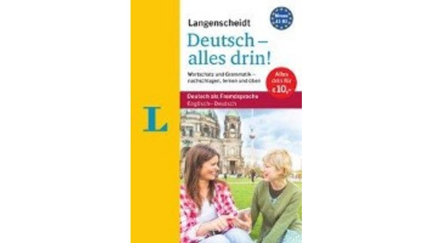Langenscheidt Deutsch - alles drin! - Basiswissen