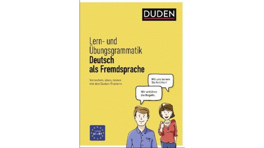 Lern- und Übungsgrammatik Deutsch als Fremdsprache