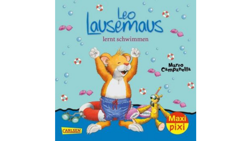 Leo Lausemaus lernt schwimmen