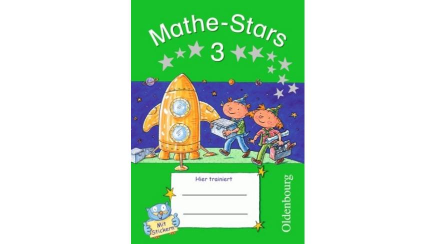 Mathe-Stars 3. Schuljahr. Übungsheft mit Lösungshe
