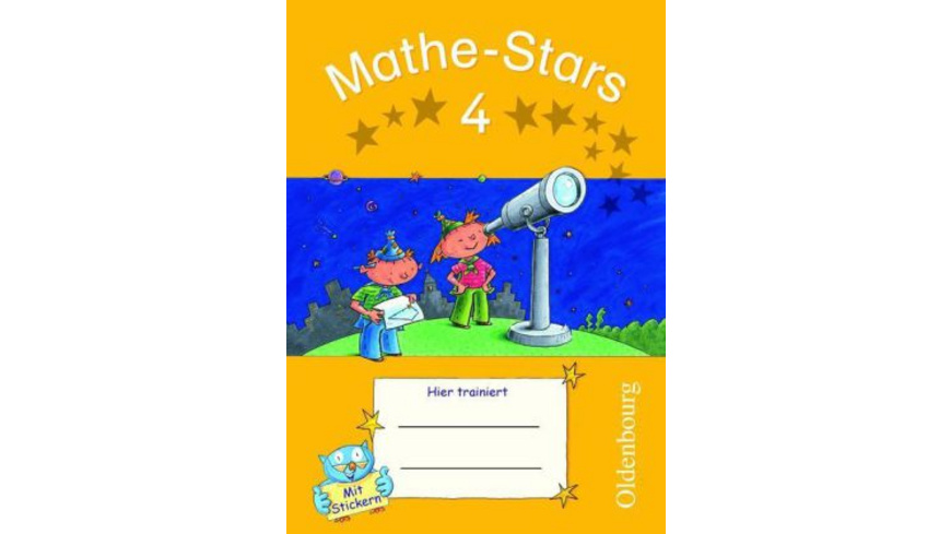 Mathe-Stars 4. Schuljahr. Übungsheft mit Lösungshe
