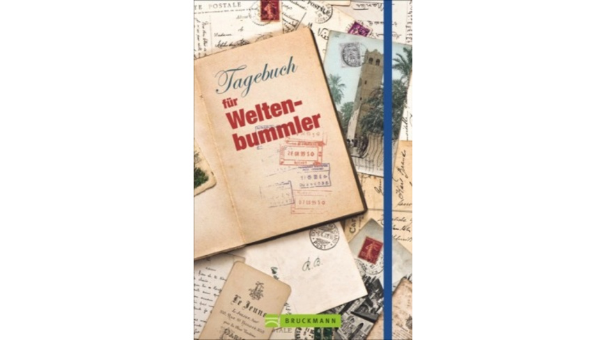 Tagebuch für Weltenbummler