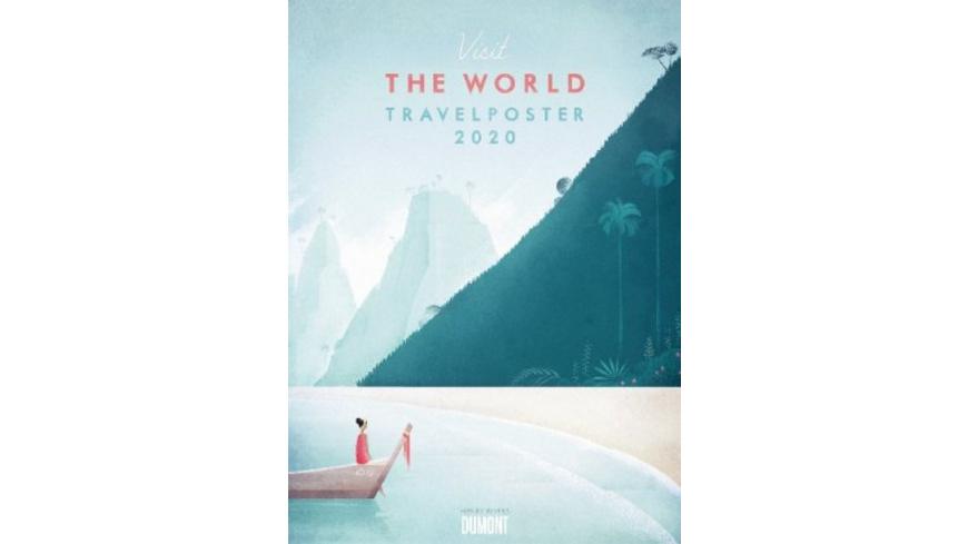 Travelposter 2020 - Reiseplakate-Kalender von DUMO