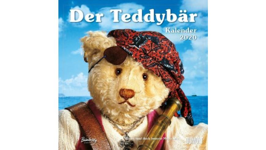 Der Teddybär 2020 - Broschürenkalender - Wandkalen