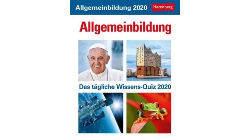 Allgemeinbildung 2020
