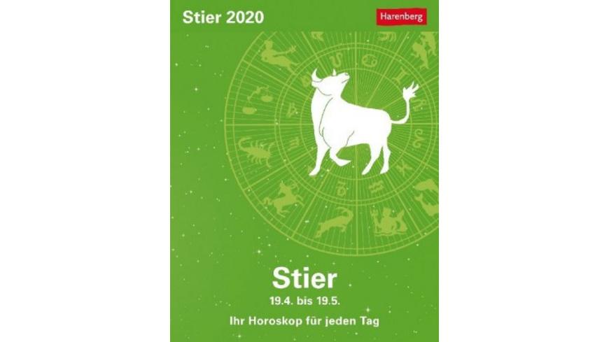 Sternzeichenkalender Stier 2020