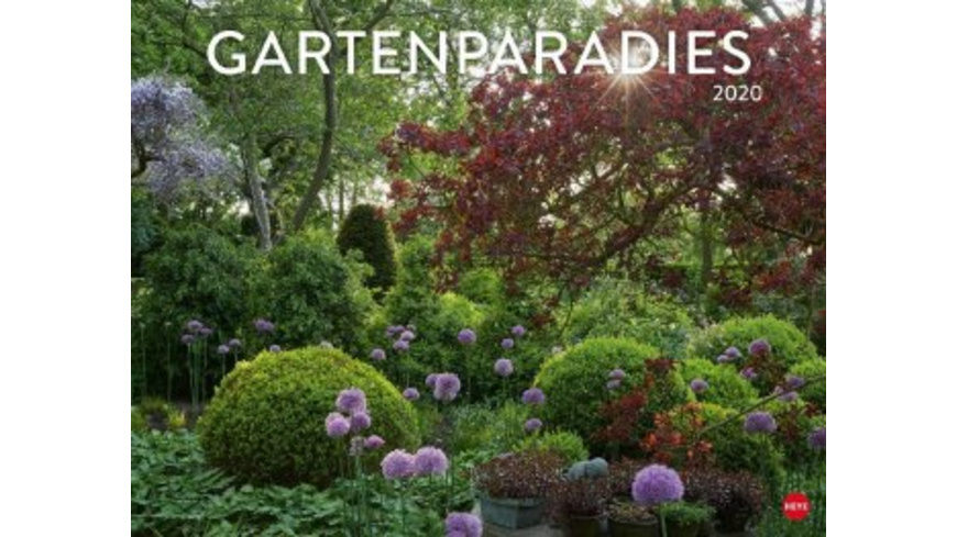 Gartenparadies Posterkalender 2020