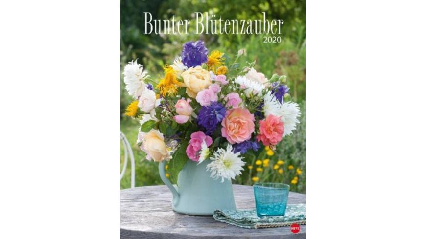 Bunter Blütenzauber Posterkalender 2020