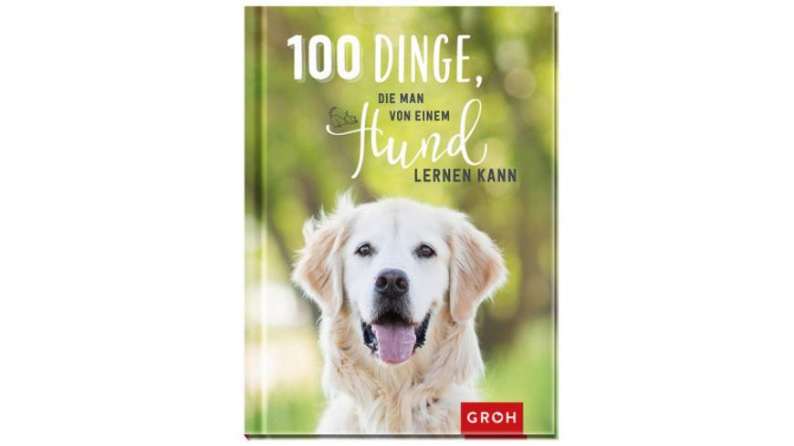 100 Dinge, die man von einem Hund lernen kann