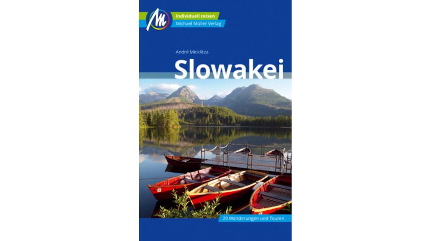 Slowakei Reiseführer Michael Müller Verlag