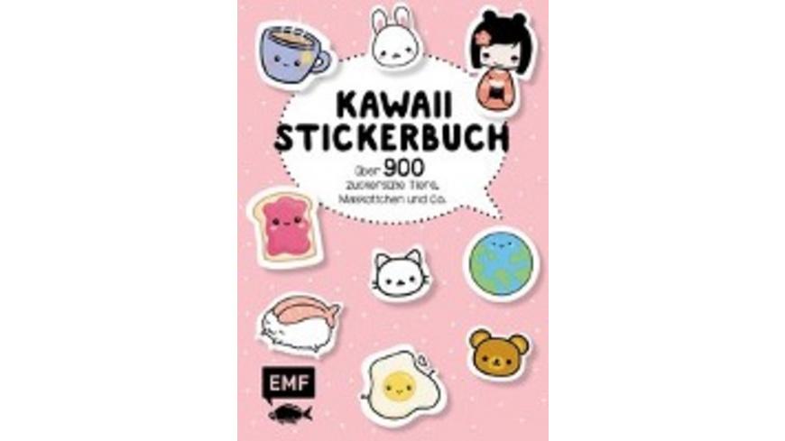 Kawaii Stickerbuch