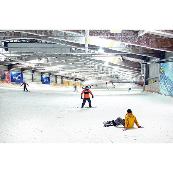 Skifahren in der Skihalle Bottrop für 2