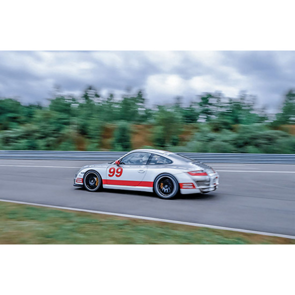 Porsche 911 Carrera 4S Rennstrecken-Training