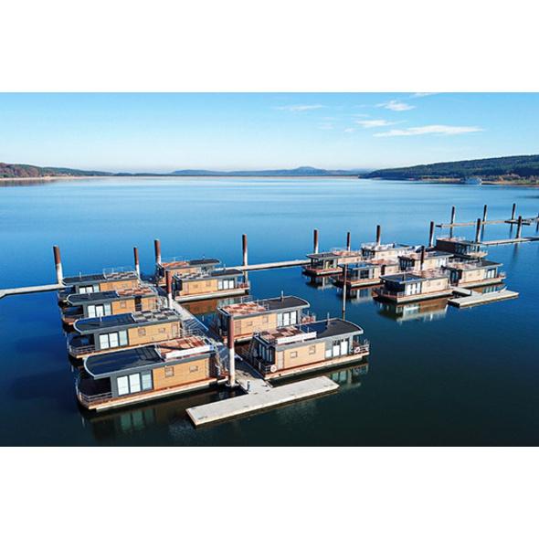 Sommer-Kurzurlaub im Floating Village Brombachsee für 2
