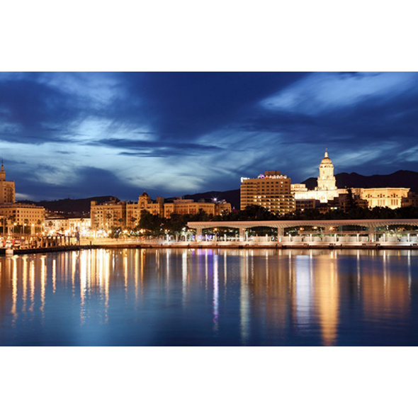 Städtetrip Málaga mit abendlichem Stadtrundgang für 2 (3 Tage)